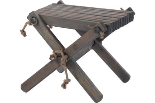 Ecofurn 90634 Lilli Pine Grey Scaled