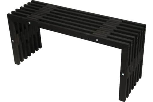 Ecofurn 93758 D Bench Pine Black Scaled
