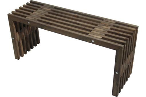 Ecofurn 93765 D Bench Pine Grey Scaled