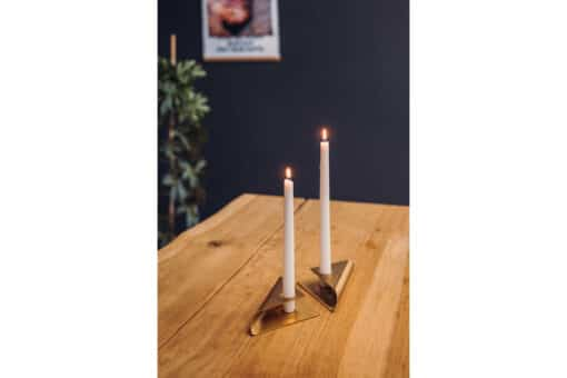 Square Candle - Gull